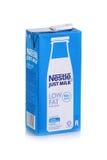 Tir de produit laitier de Nestle Photographie stock