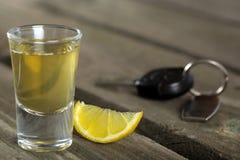 Tir de tequila Image libre de droits