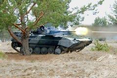 Tir de VBC BMP-2 Photos stock