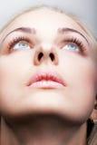 Tir en gros plan de visage femelle Photo stock