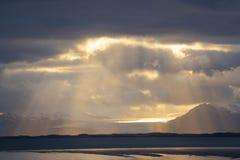Tir scénique de paysage de montagne Image stock