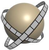 Tira 6 da película Imagem de Stock Royalty Free