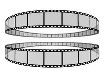 Tira 7 da película Imagens de Stock