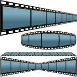 Tira D da película ilustração stock
