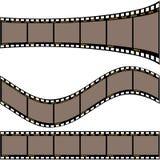 Tira A da película ilustração do vetor