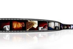 Tira da película Imagens de Stock