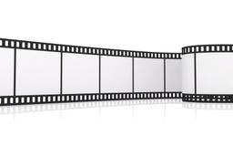 tira da película de 35mm Imagens de Stock