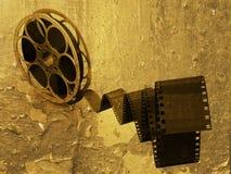 Tira da película de Grunge ilustração do vetor