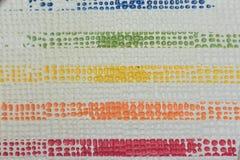 Tira de goma colorida Fotos de archivo libres de regalías