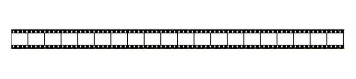Tira de la película Foto de archivo