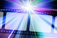Tira de la película Imagen de archivo libre de regalías