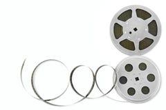 Tira de la película aislada en el fondo blanco Imagenes de archivo