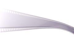 tira de la película de 35m m Foto de archivo libre de regalías