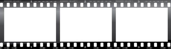 tira de la película de 35m m Fotografía de archivo