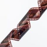 tira de la película de la foto de 35m m Foto de archivo
