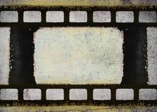 Tira de la película del dibujo del Grunge Fotografía de archivo