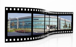 Tira de la película de Swansea Fotos de archivo libres de regalías