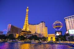 Tira de Las Vegas Foto de archivo libre de regalías