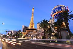 Tira de Las Vegas Fotos de Stock Royalty Free