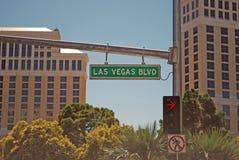 Tira de Las Vegas Fotografia de Stock