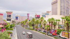 Tira de Las Vegas almacen de metraje de vídeo