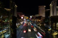 Tira de Las Vegas Imágenes de archivo libres de regalías