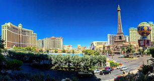 Tira de Las Vegas Fotografía de archivo