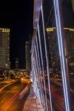 Tira de Las Vegas de Night fotografía de archivo libre de regalías