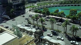Tira de Las Vegas del top almacen de metraje de vídeo