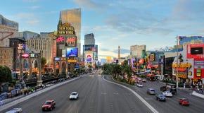 Tira de Las Vegas, Estados Unidos Imagen de archivo
