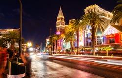 Tira de Las Vegas foto de stock royalty free