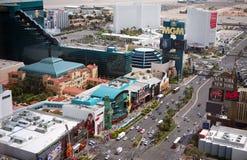 Tira de Las Vegas no dia Imagem de Stock Royalty Free