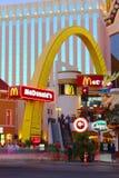 Tira de McDonald's Las Vegas imagen de archivo libre de regalías