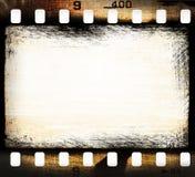 Tira de película del Grunge Imagen de archivo libre de regalías