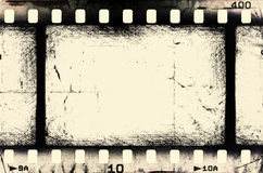 Tira de película del Grunge Imagenes de archivo