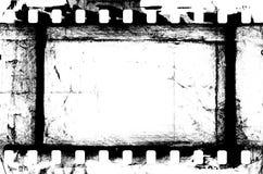 Tira de película del Grunge Foto de archivo libre de regalías