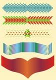 Tira decorativa Ilustración del Vector