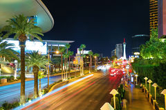 Tira del sur Las Vegas Foto de archivo libre de regalías
