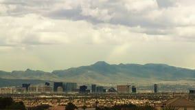Tira distante de Las Vegas, time lapse almacen de video