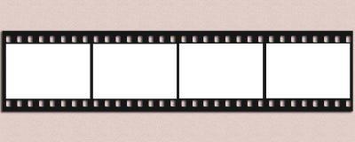 Tira do filme Fotografia de Stock