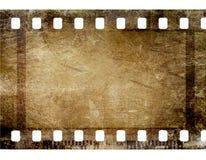 tira do filme de 35 milímetros Foto de Stock