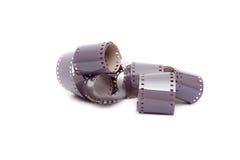 tira do filme de cor de 35mm Imagem de Stock