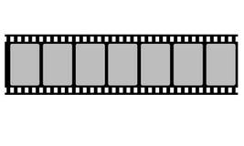 Tira do filme do carretel Imagens de Stock