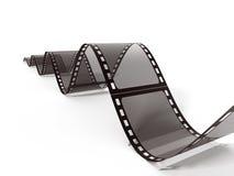 Tira do filme do vintage isolada no fundo branco ilustração 3D Fotografia de Stock Royalty Free