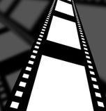 Tira do filme negativo Foto de Stock