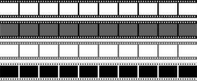 Tira do filme no ícone branco de background ilustração stock
