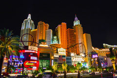 A tira em Las Vegas imagem de stock royalty free