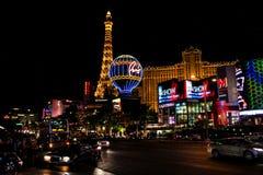 A tira em Las Vegas, nanovolt Imagens de Stock Royalty Free