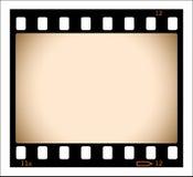 Tira en blanco de la película de la sepia Imagenes de archivo