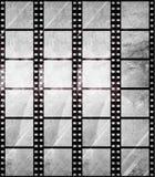 Tira envejecida de la película en estilo del grunge Foto de archivo libre de regalías